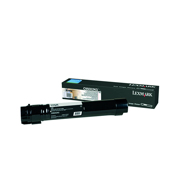 Lexmark C950 Black Extra High Yield Toner Cartridge C950X2KG