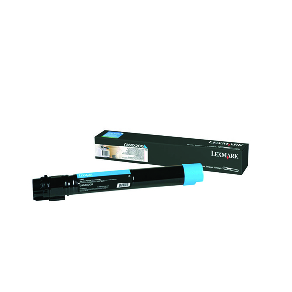 Lexmark C950 Cyan Extra High Yield Toner Cartridge C950X2CG