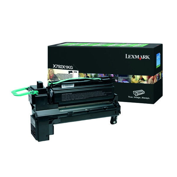 Lexmark Extra High Yield Black Return Program Toner Cartridge X792X1KG