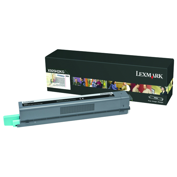 Lexmark Black High Yield Toner Cartridge X925H2KG