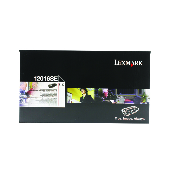 Lexmark E120 Black Return Programme Toner Cartridge 0012016SE