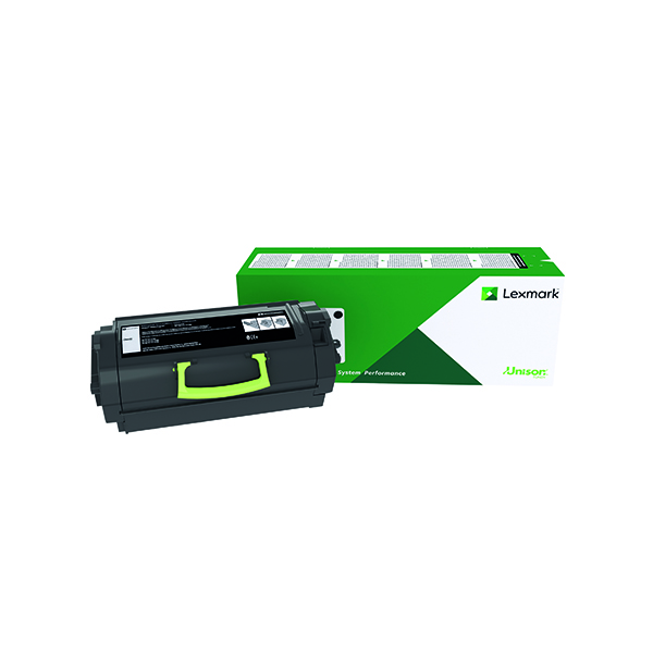 Lexmark 522H Black High Yield Toner Cartridge 52D2H00