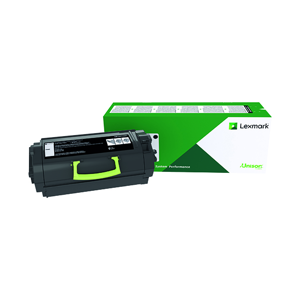 Lexmark 522X Black Extra High Yield Toner Cartridge 52D2X00