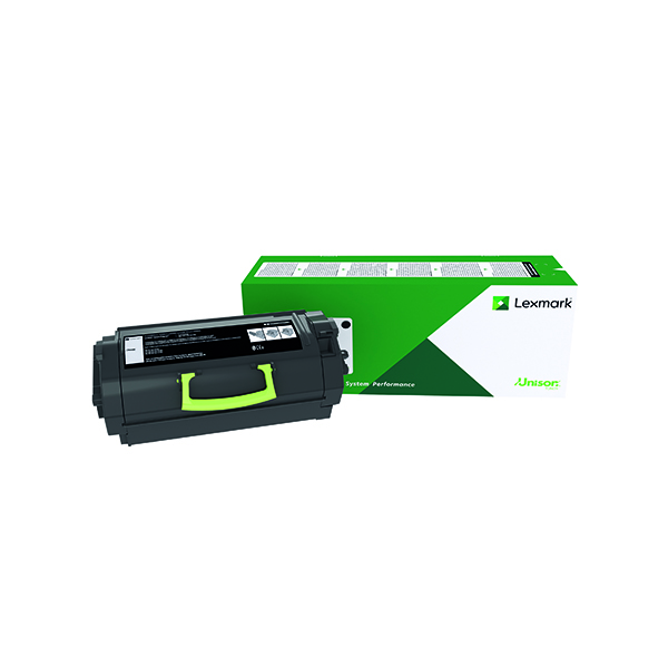 Lexmark 622H Black High Yield Toner Cartridge 62D2H00