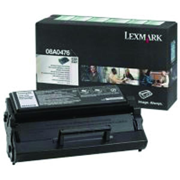 Lexmark E320/322 Black Return Programme Laser Toner 08A0476