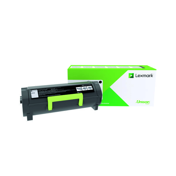Lexmark 602XE Black Extra High Yield Return Programme Toner 60F2X0E