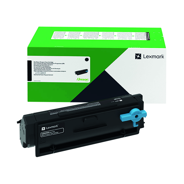 Lexmark B342000 Black Return Programme Toner Cartridge B342000