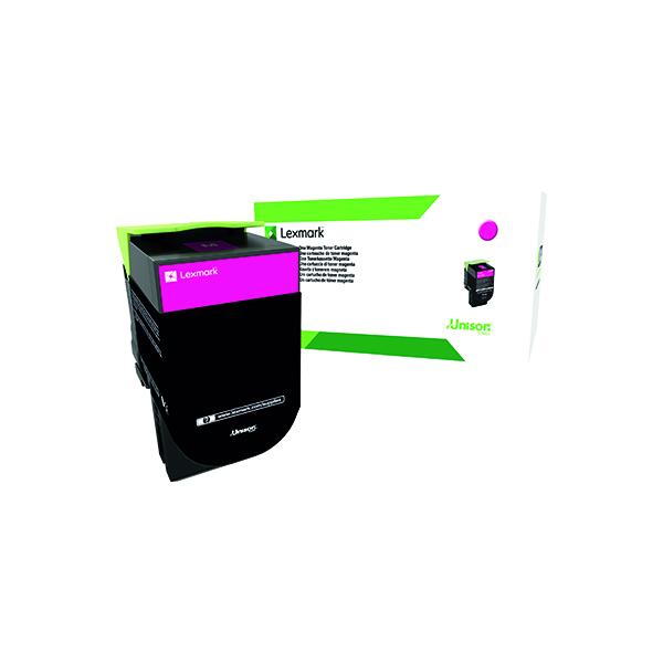 Lexmark 802XM Magenta Extra High Yield Toner Cartridge 80C2XM0