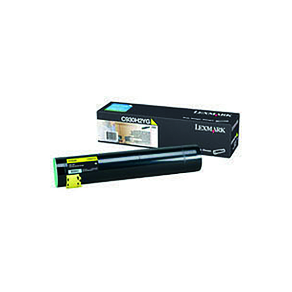 Lexmark C930 Yellow High Yield Toner Cartridge C930H2YG