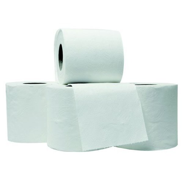 Initiative Toilet Roll White 200 Sheets (100 x 95mm) Per Roll Pack 36