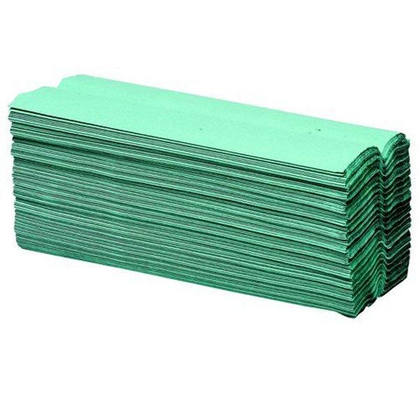 Initiative Paper Towels C-Fold Green Pack 2688 (16 packs of 168) 90mm x 230mm