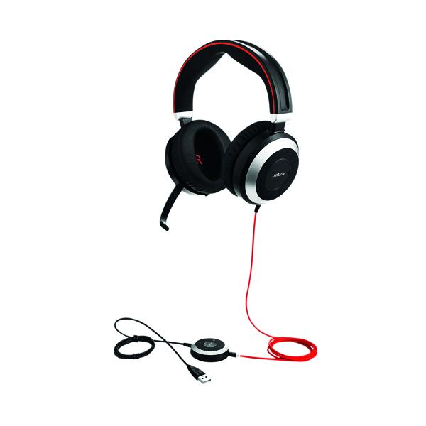 Jabra Evolve 80 USB-A UC Headset 7899-829-209