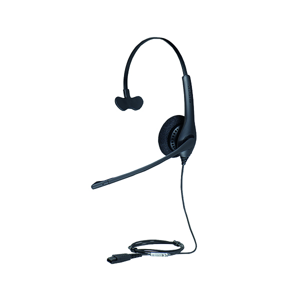 Image for Jabra BIZ 1500 Mono QD Monaural Headset (Peakstop technology keeps sound levels safe) 1513-0154