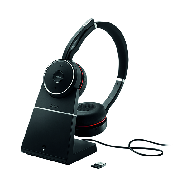 Jabra Evolve 75 UC Headset with Charging Stand 7599-838-199
