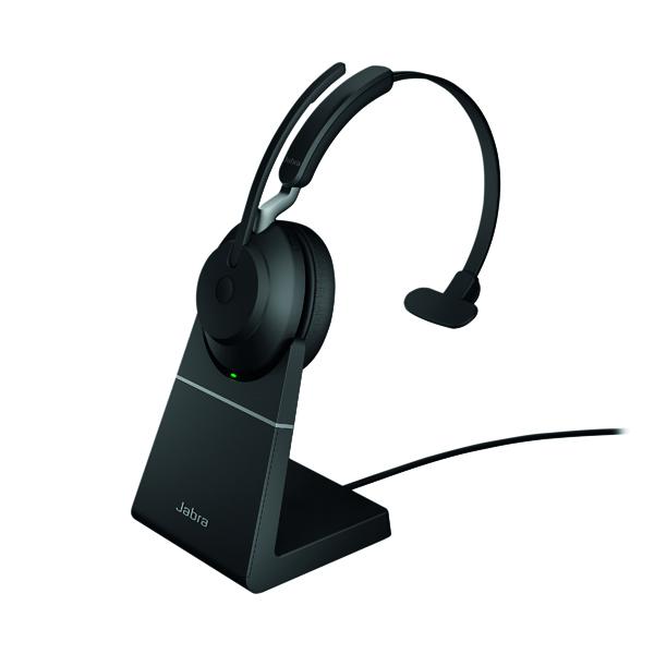 Jabra Evolve2 65 Link380A UC Mono Stand Black 26599-889-989