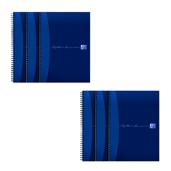 Oxford My Notes Notebook 200 Pages A4 (Pack of 3) 2 For 1