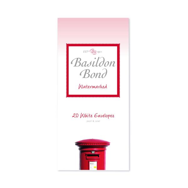 Basildon Bond White Envelope 89 x 187mm (Pack of 200) 100080068