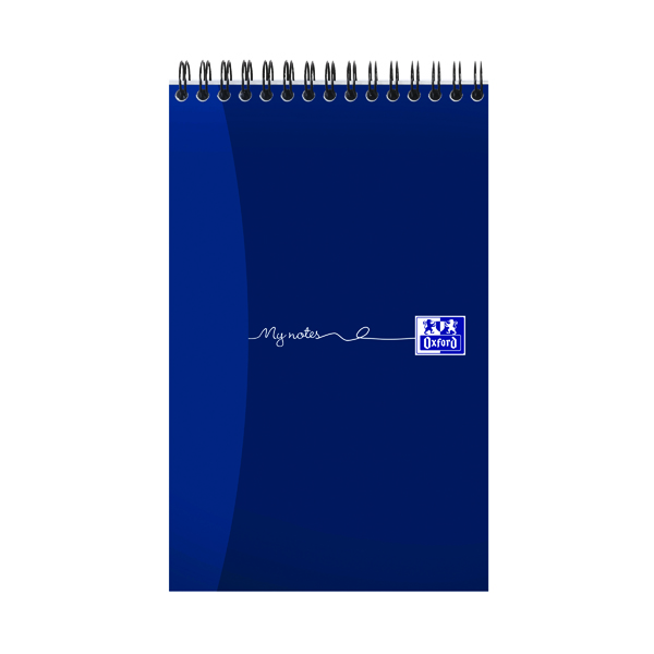 Oxford My Notes Reporter Notebook 160 Pages 125 x 200mm (Pack of 10) 100080496