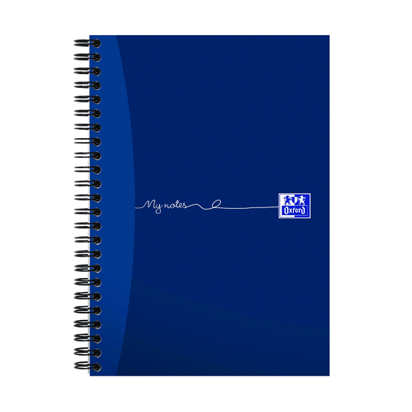 Oxford MyNotes Soft Cover Wirebound Notebook 200 Pages A5 Plus (Pack of 3) 100082372