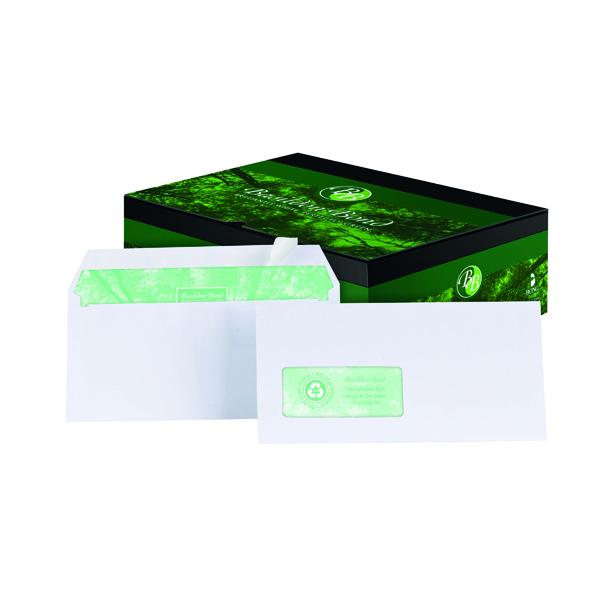 Basildon Bond DL Wallet Envelope Window White (Pack of 500) A80117