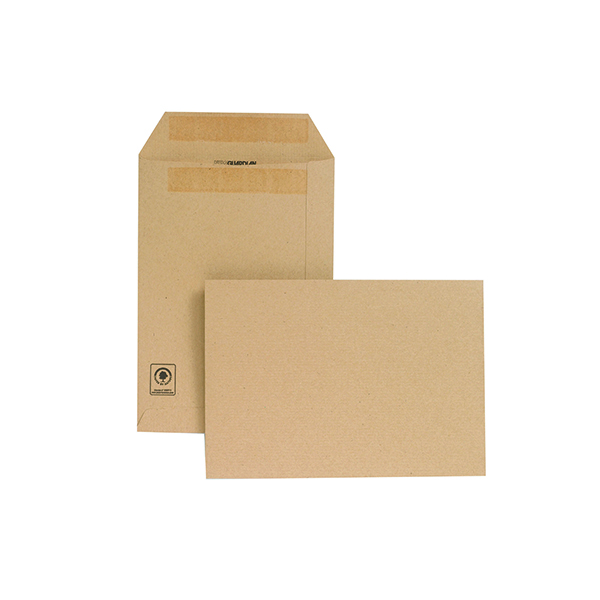 New Guardian C5 Envelope Pocket Self Seal Manilla (Pack of 250) D26103