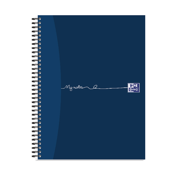 Oxford My Notes Card Cover Wirebound Notebook 320 Pages A4+ (Pack of 3) 100080518