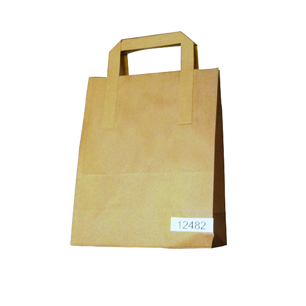 Image for Paper Takeaway Bag Brown (Pack of 250) BAG-SPIC01-A