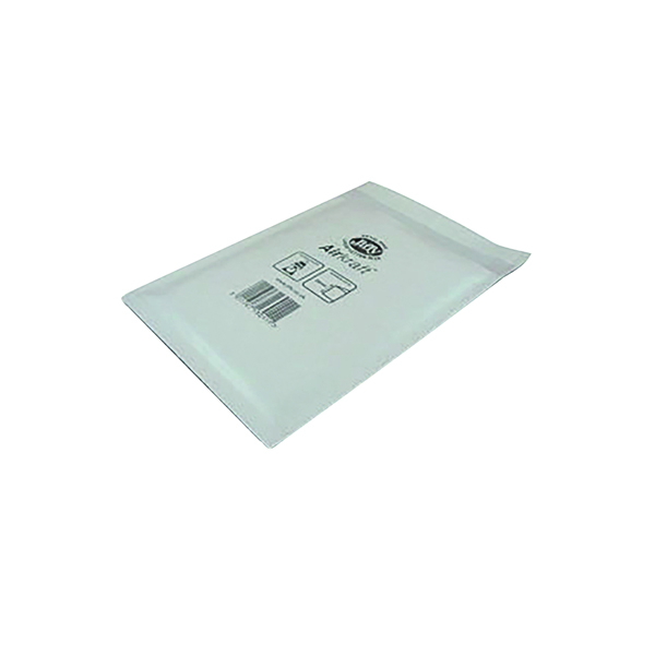 Jiffy AirKraft Bag Size 6 290x445mm White (Pack of 50) JL-6