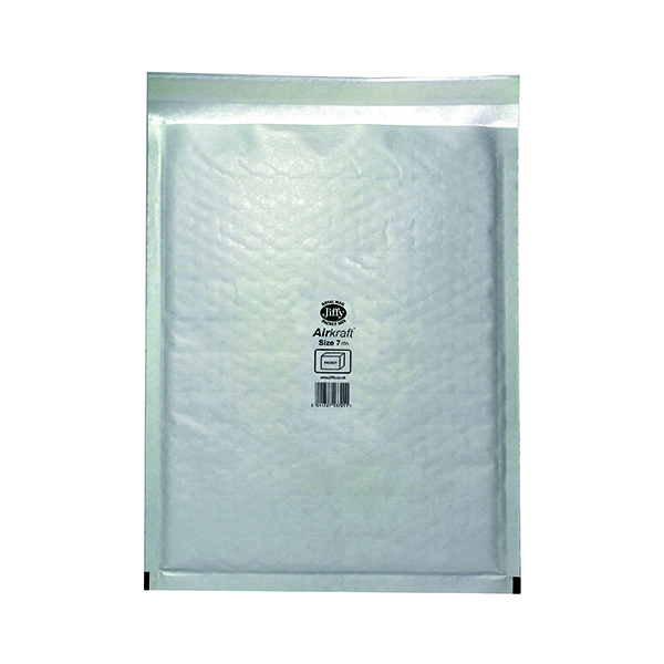 Jiffy AirKraft Bag Size 7 340x445mm White (Pack of 50) JL-7