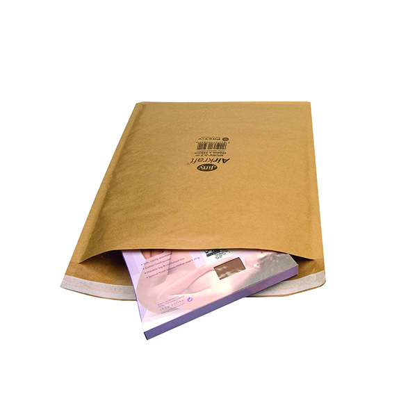 Jiffy AirKraft Bag Size 1 170x245mm Gold (Pack of 100) JL-GO-1
