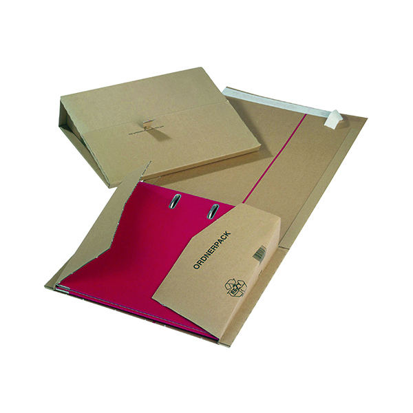 Mailing Filer 320x290x35to80mm Buff (Pack of 20) 11493