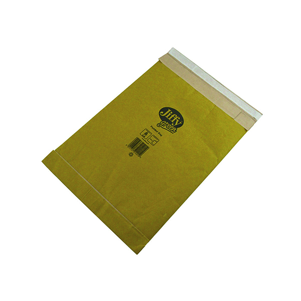 Jiffy Padded Bag Size 3 195x343mm Gold PB-3 (Pack of 10) JPB-AMP-3-10