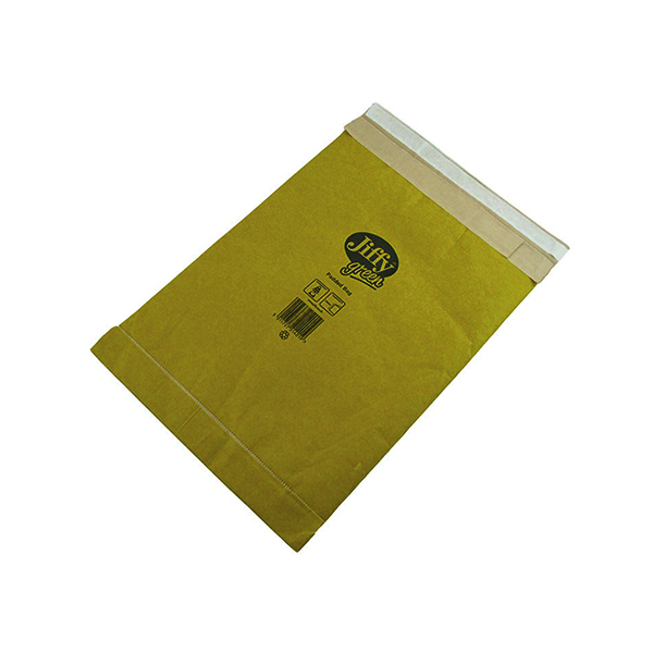 Jiffy Padded Bag Size 6 295x458mm Gold PB-6 (Pack of 50) JPB-6