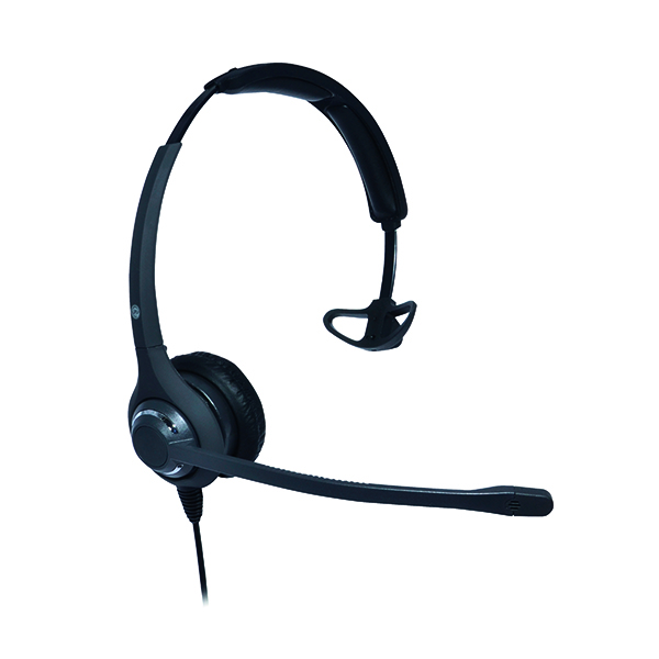 JPL 611PM Monaural HeadBand Black JPL-611-PM