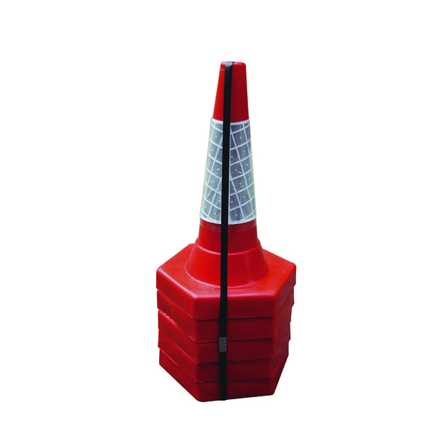 Red 50cm Sand Weighted Cone (Pack of 5) JAA049-220-615