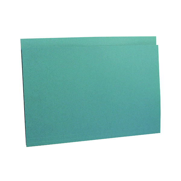 Guildhall Square Cut Folder Heavyweight Foolscap Blue (Pack of 100) FS290-BLUZ