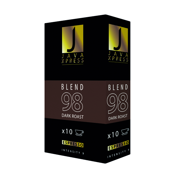 Java Xpress Blend 98 Coffee Capsules (Pack of 100) JX1098