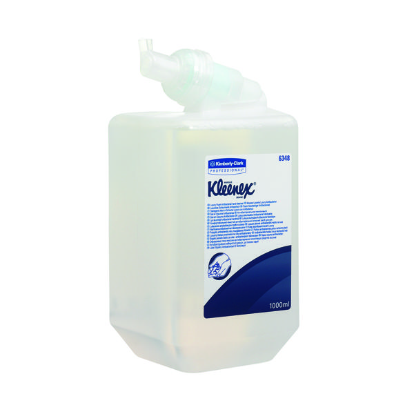 Kleenex Antibacterial Foam Hand Soap Refill 1 Litre (Pack of 6) 6348