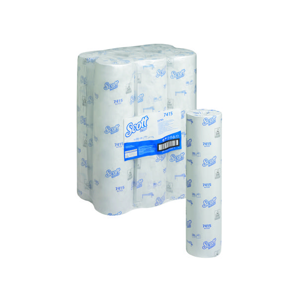 Image for Wypall L20 Wiper Couch Roll White 140 Sheets (Pack of 6) 7415