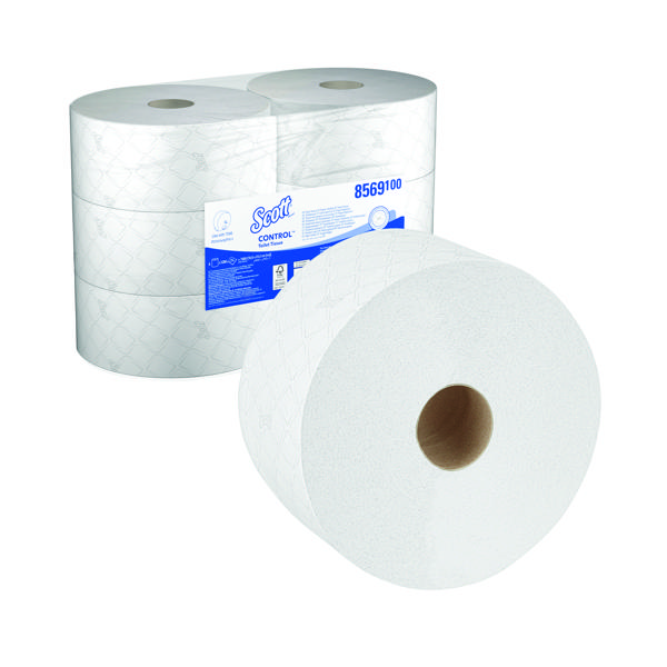 Scott 2-Ply Control Toilet Tissue 314m (Pack of 6) 8569