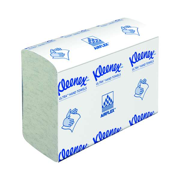 Kleenex Ultra Hand Towels 2Ply Multifold Small White (Pack of 18) 4633