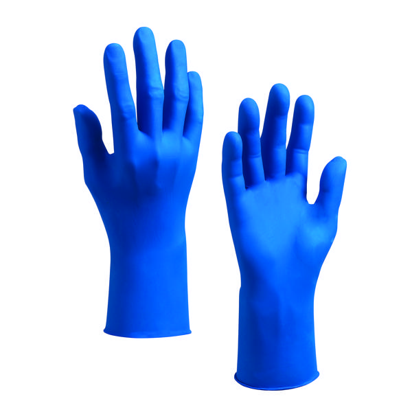 Image for Kleenguard G10 Arctic Blue Safety Large Gloves (Pack of 200) 90098