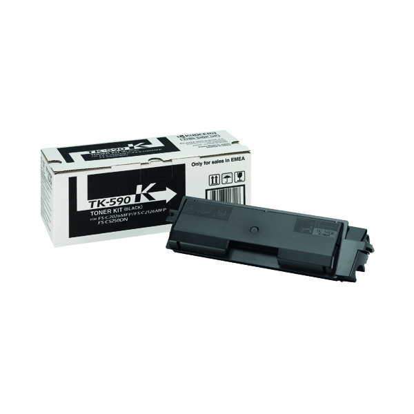 Kyocera TK-590K Black Toner Cartridge