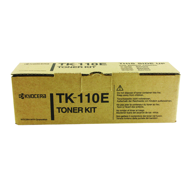 Kyocera TK-110E Black Toner Cartridge
