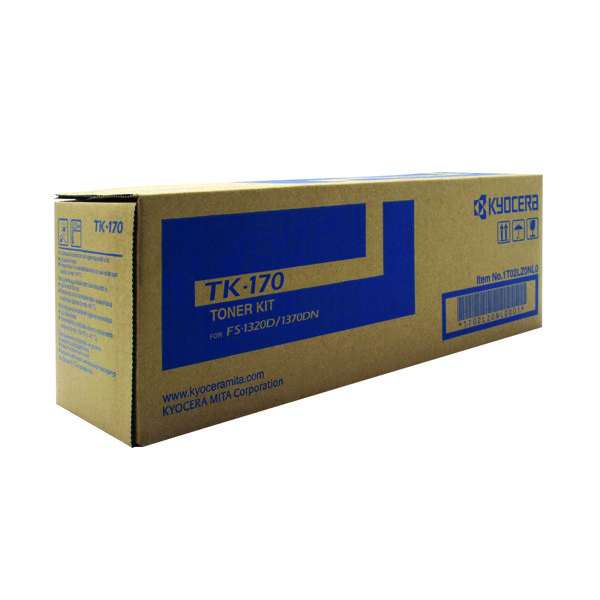 Kyocera TK-170 Black Toner Cartridge (7,200 Page Capacity)