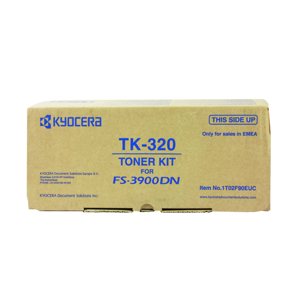 Kyocera TK-320 Black Toner Cartridge (15,000 Page Capacity)
