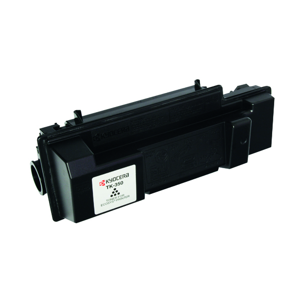 Kyocera TK-350 Black Toner Cartridge (15,000 Page Capacity)