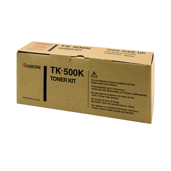 Kyocera FSC5016N Toner Black (8,000 Page Capacity) TK500K