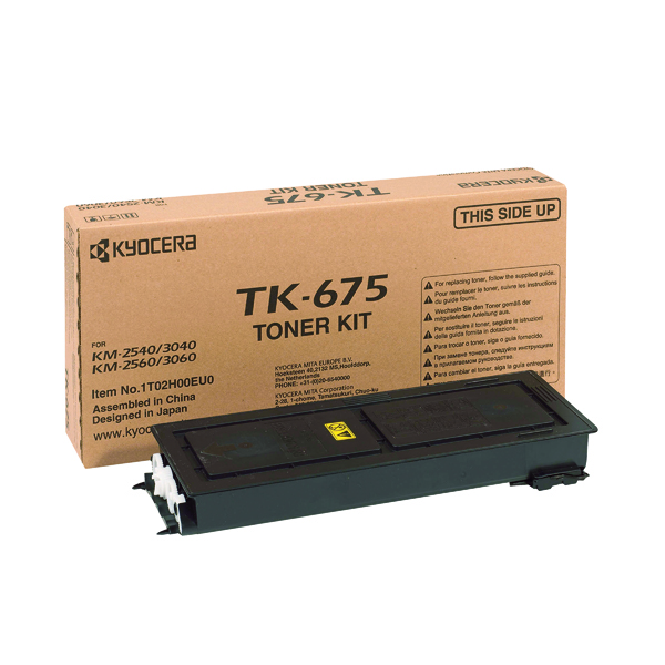 Kyocera TK-675K Black Toner Cartridge