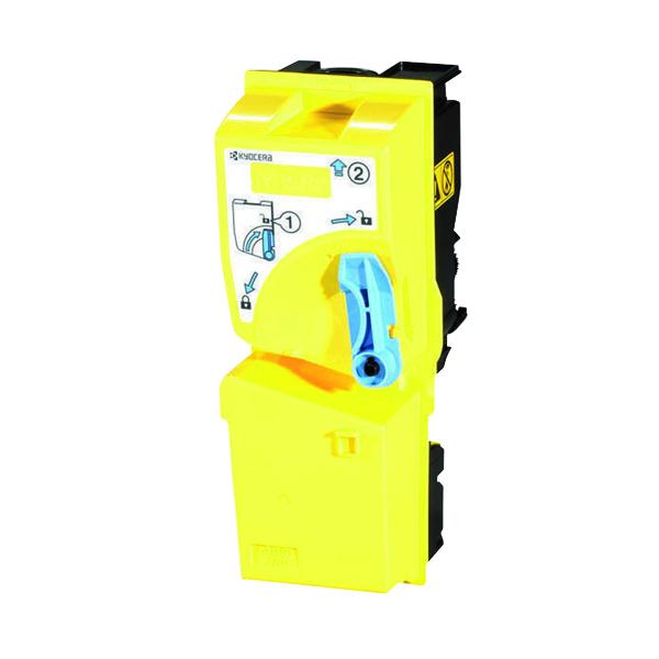 Kyocera TK-825Y Yellow Toner Cartridge (7000 page capacity) 1T02FZAEU0